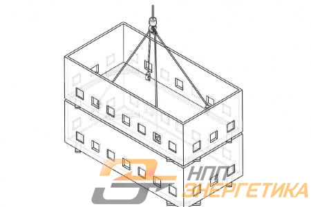 Схема складирования надземной и подземной части БК