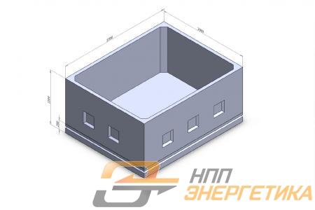 Подземный модуль малогабаритного БК (БРП)