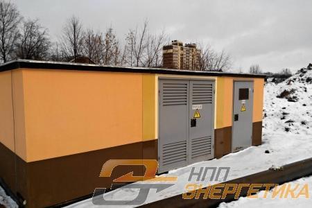 Завод «ЭКТА» и бетонные корпуса НПП Энергетика