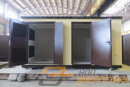 Бетонные корпуса НПП Энергетика для ЭлектроСтрой