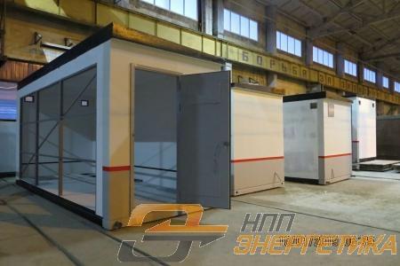 Бетонные контейнера для подстанций