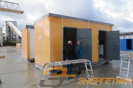 Площадка для комплектации БКТП