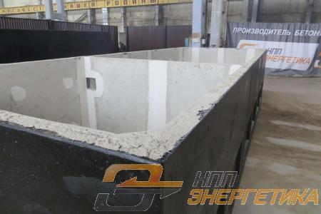 Подземный модуль бетонного блок контейнера