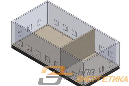 Перегородка подземного модуля