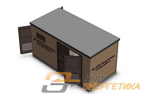 Бетонный блок контейнер