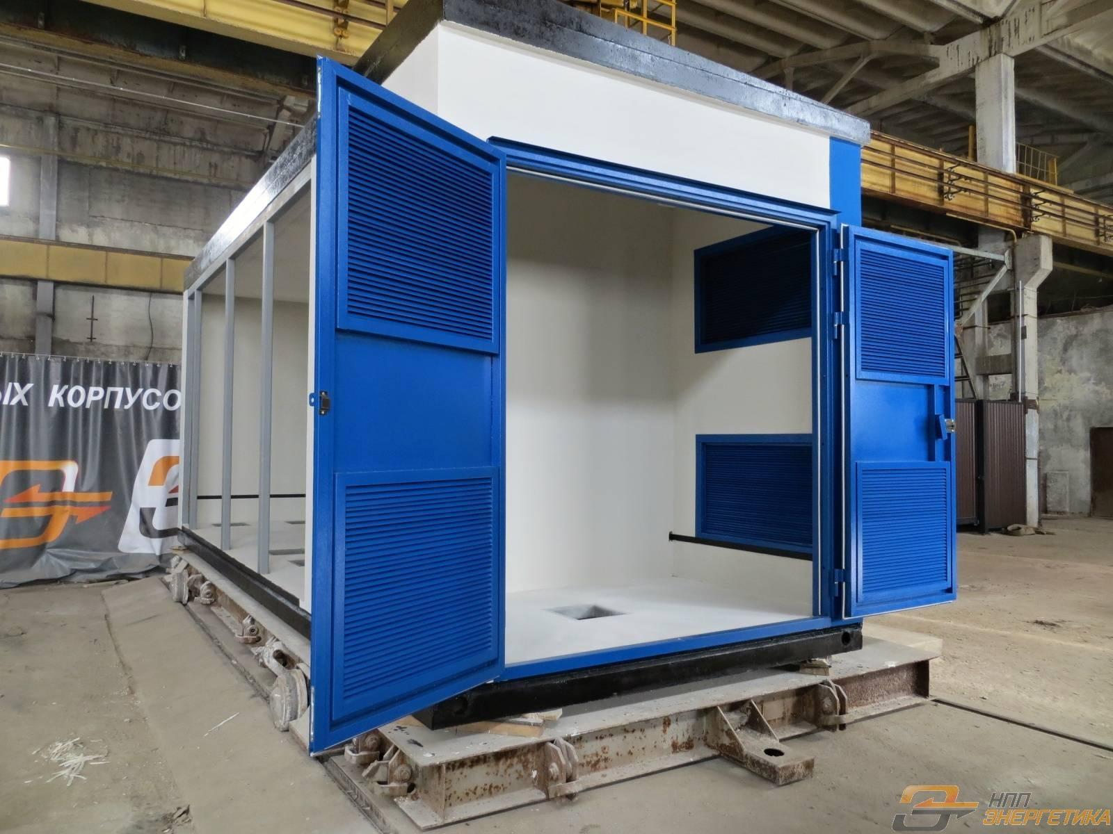 Бетонные корпуса для трансформаторных подстанций